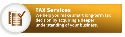 We help you make smart long-term tax decision by acquiring a deeper understanding of your business
